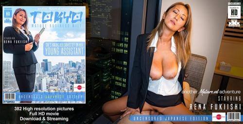 Rena Fukiishi (41) - Hot Business MILF Rena Fukiishi is doing a toyboy in Tokyo 1060p