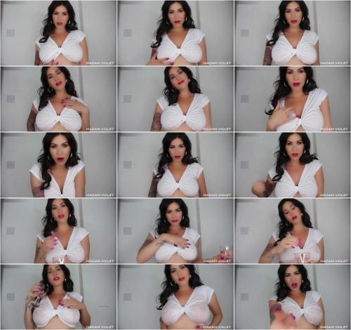 Madam Violet - Wet T Shirt Manipulation [FullHD 1080P]