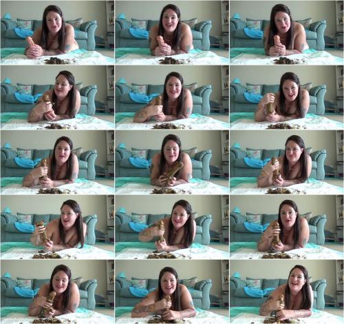 SamanthaStarfish - Toilet Slavery Tasks Masturbate With My Shit [FullHD 1080P]
