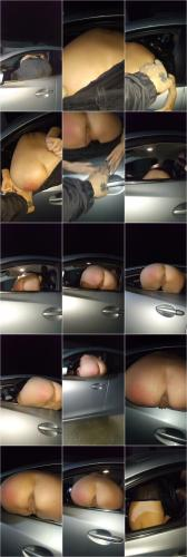 Adira Allure - Peeing out the Window of her Rental Car [FullHD 1080P]