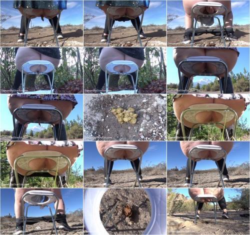 SamanthaStarfish - Vangirl Pooping In The Wild [FullHD 1080P]