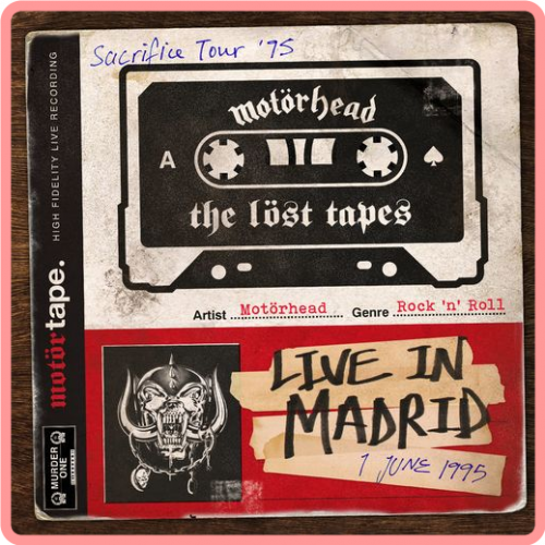 Motorhead - The Lost Tapes Vol  1 (Live in Madrid 1995) (2021) Mp3 320kbps