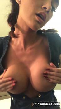 Red stocking JOI Slut in heels - Skype Sex