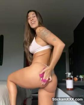 I love to play with my boobs - Bigo Live Porn