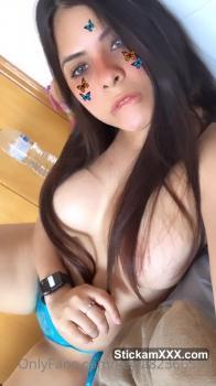 She's stroking my Tiktok cock for me