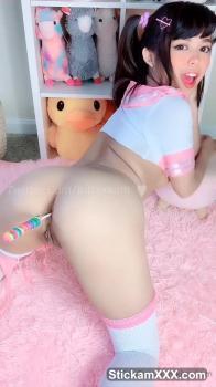 College Slut Rubs Pussy Ass Up - Bigo Live Porn