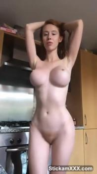 Omegle Video Amateur Gets Creampie In Her Pussy