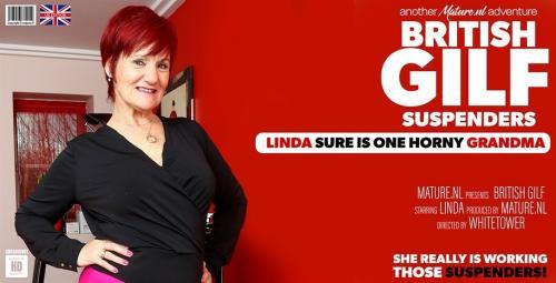 Linda (EU) (63) - GILF Linda showing off her suspenders 1080p